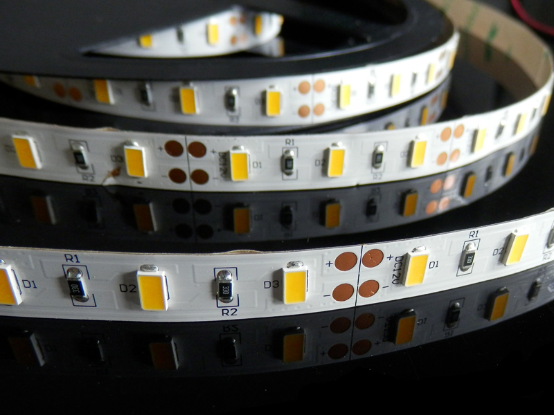 Flexible LED Strip lights 5630smd indoor or outdoor use 12/24V