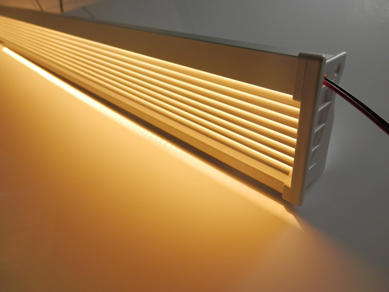 LED Wall recessed Profile: LP7026