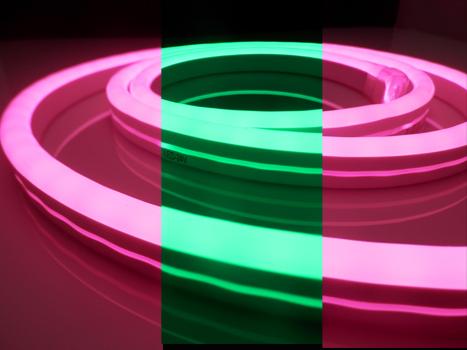 RGB LED Neon Flex Strip 220V 24V: HNR201RGB/Pixel