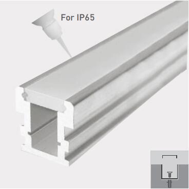 LED Linear Inground Profile: LP2626